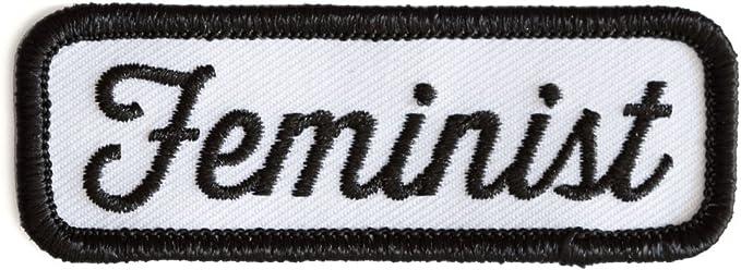 Estas son cosas feministas bordado hierro en o coser en parche: Amazon.es: Juguetes y juegos