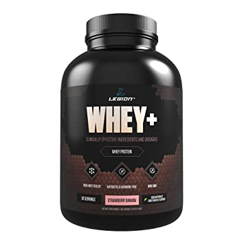 Legion Whey+ Strawberry Banana Whey Isolate Protein Powder