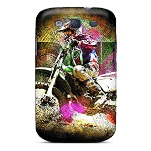 Durable Enduro Racing Back Case/cover For Galaxy S3