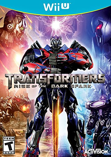 Transformers Rise of the Dark Spark - Wii U (Action Wii Games Adventure)