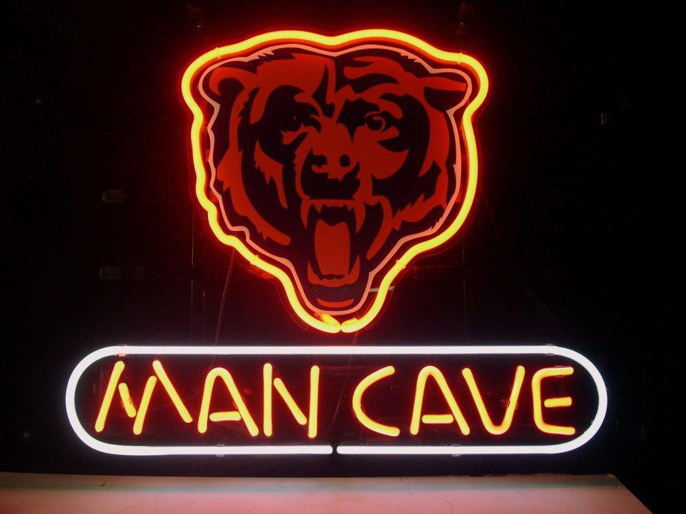 Urby™ 18''x14'' Sports League CBears Man Cave Beer Bar Pub Neon Light Sign 3-Year Warranty-Excellent Handicraft! N43