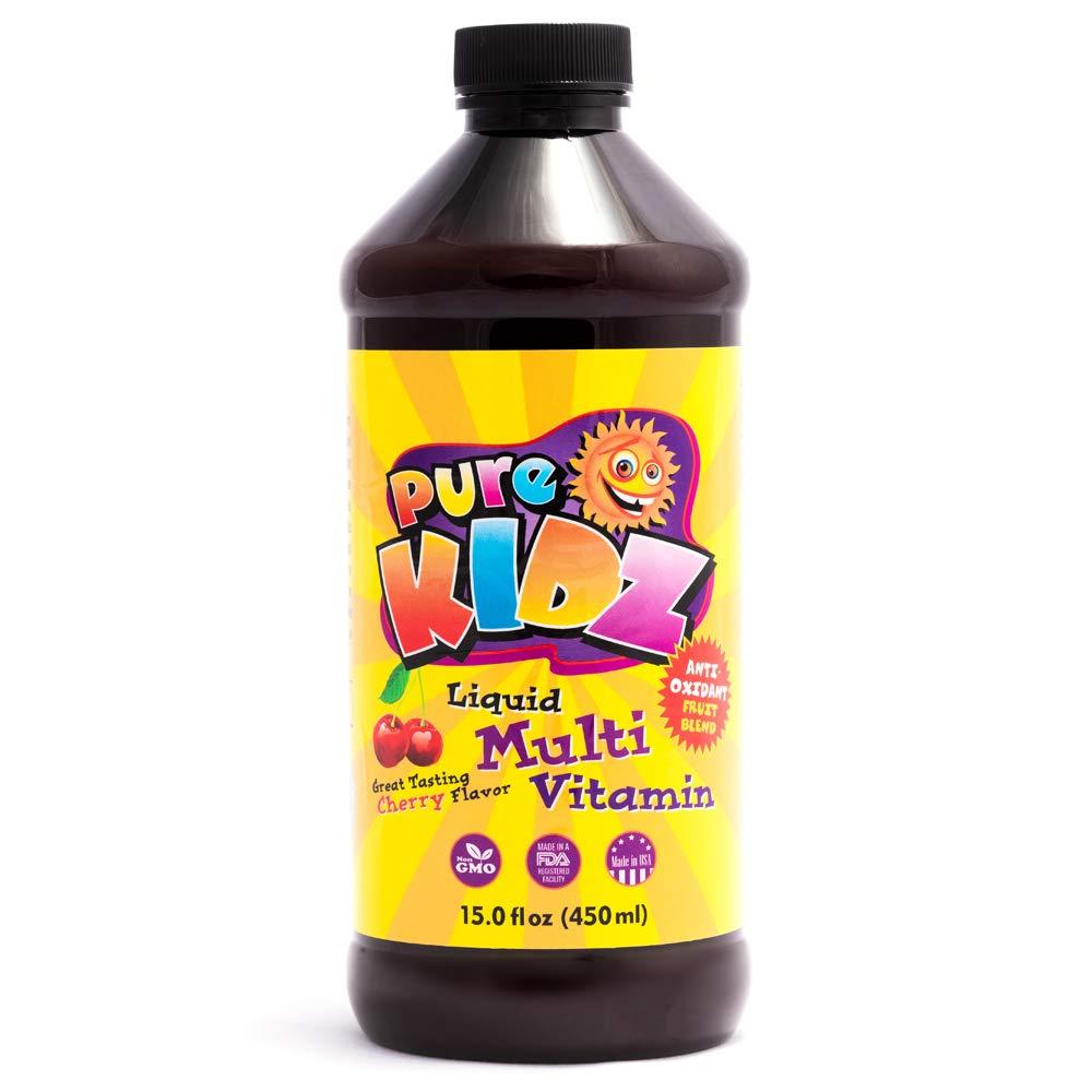 Pure Kidz Liquid Kids Multivitamin, Cherry, 15 Ounces