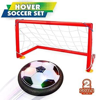 Betheaces Kids LED Hover Soccer Set