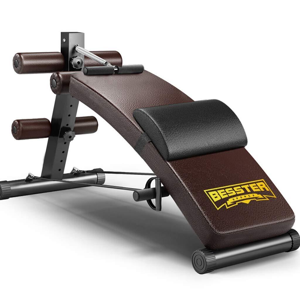 YXGH- Verstellbare Sit-up-Bank Slant Board Pro Ab, verstellbare Workout Bauch-Übung Multifunktions Bench Board (Lagergewicht 350kg) Sportwaren