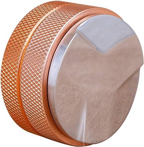 58mm Espresso Coffee Powder Tamper Stainless Steel Base Adjustable Distributor