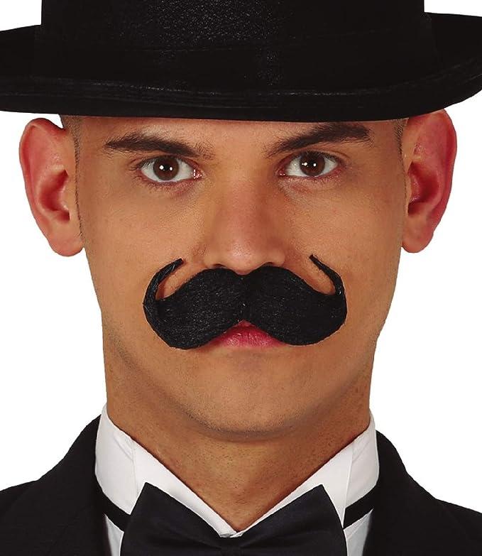 7 Auto Adhésif Faux Moustache Moustache Halloween Fancy Dress Party Costume
