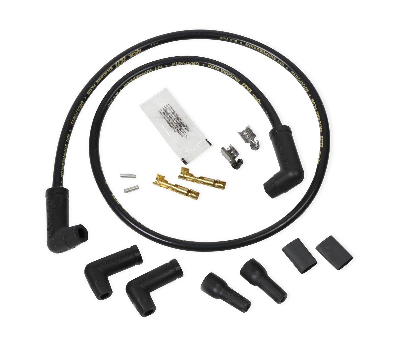Amazon.com: ACCEL 173083K 8.8mm Universal Spark Plug Wire Set ...