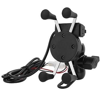 wupp Universal Motocicleta USB Cargador de soporte para ...
