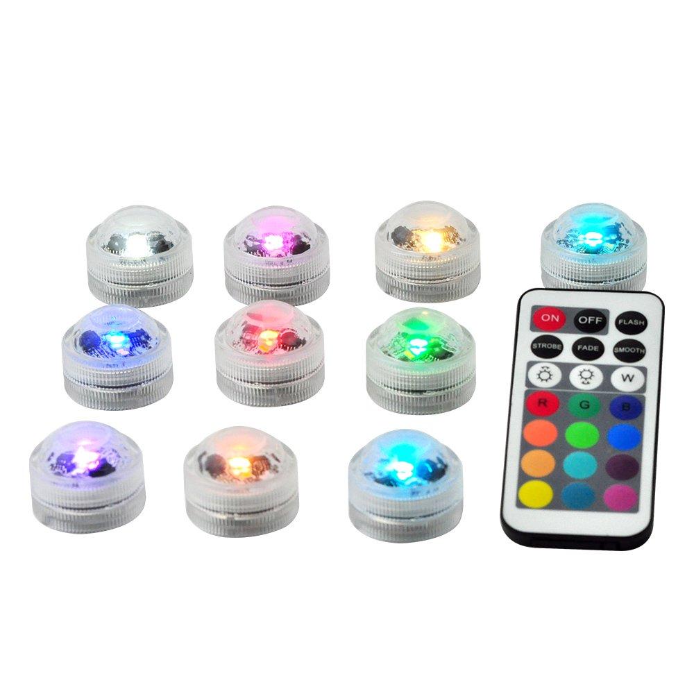 Farbwechsel Vase 3LEDs Weihnachten Kleiner Wasserfeste LED ...