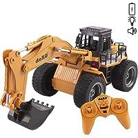deAO Camión de Construcción RC Profesional Función Completa