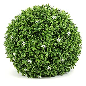 3rd Street Inn Topiary Ball - Artificial Topiary Plant - Wedding Decor - Indoor/Outdoor Artificial Plant Ball - Topiary Tree Substitute 6