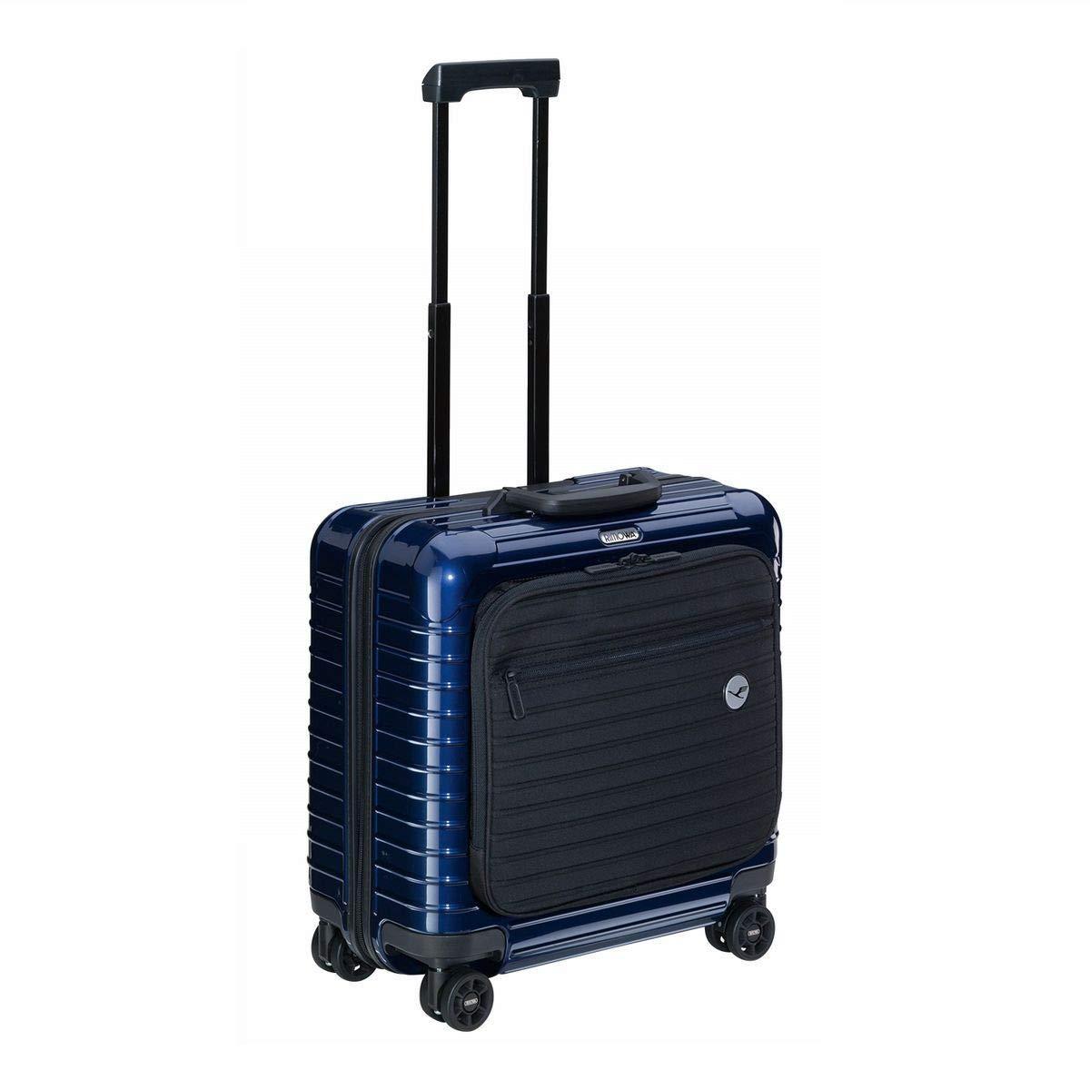 【RIMOWA×Lufthansa】(リモワ×ルフトハンザ航空) Bolero ボレロ ビジネストローリー 23L ブルー [並行輸入品] B07PFWYDRJ