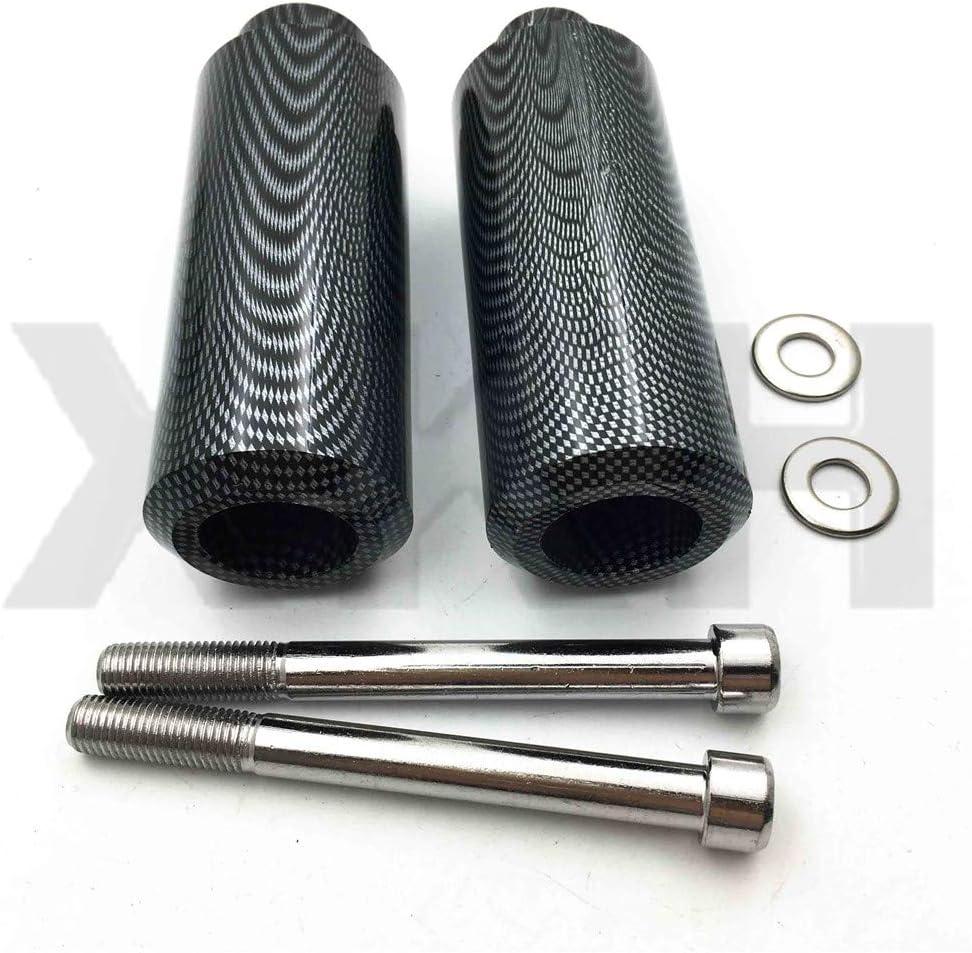 XKMT-Extended Frame Slider Compatible With 1999 2000 2001 2002-2006 Honda Cbr 600 F4 F4I Carbon B00YWBSTZQ