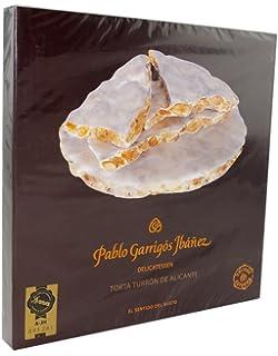 Pablo Garrigós Ibáñez Delicatessen Torta Turron de Alicante (Crunchy Almond Turron Torta) 7 Oz