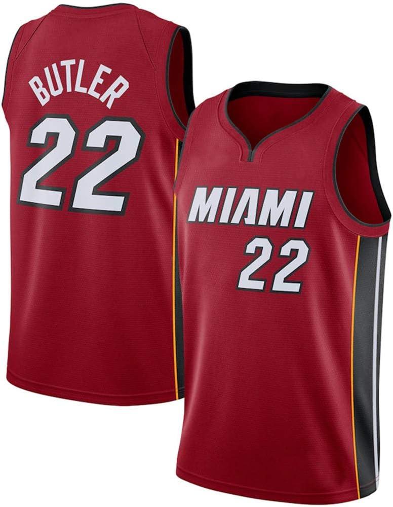 Z/A Miami Heat Jimmy Butler, NO.22 Jersey Camisa De La ...