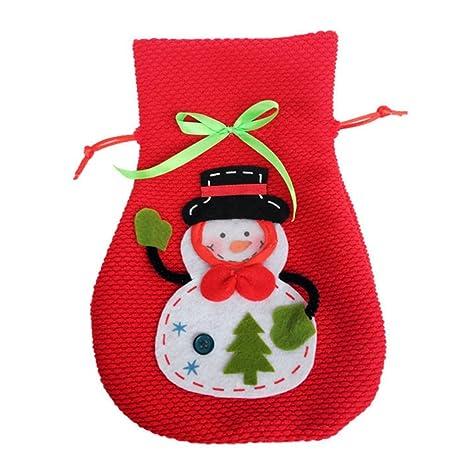 Da. WA Lovely decoraciones de Navidad botella de vino ...