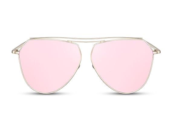 Cheapass Gafas De Sol Espejadas UV-400 Retro Diseñador Metálicas. Mujeres Hombres