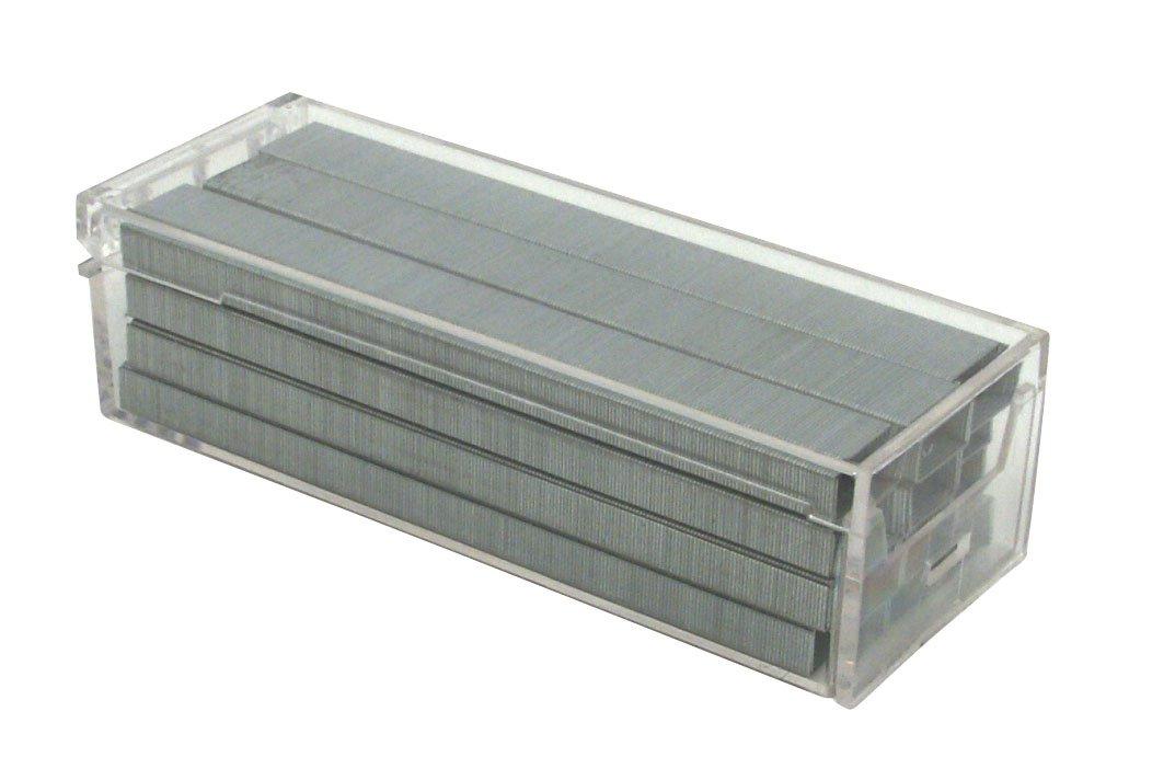 Bostitch Premium Standard Staples in Clear Plastic Box, 1/4 Inch Leg, 5,000 Per Box (SB10)