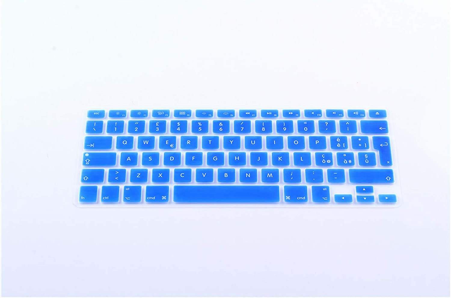 Notebook Keyboard Protective Film EU Italy Keyboard Cover for MacBook Pro 13 Air 15 Inch Color Keyboard Film,Red
