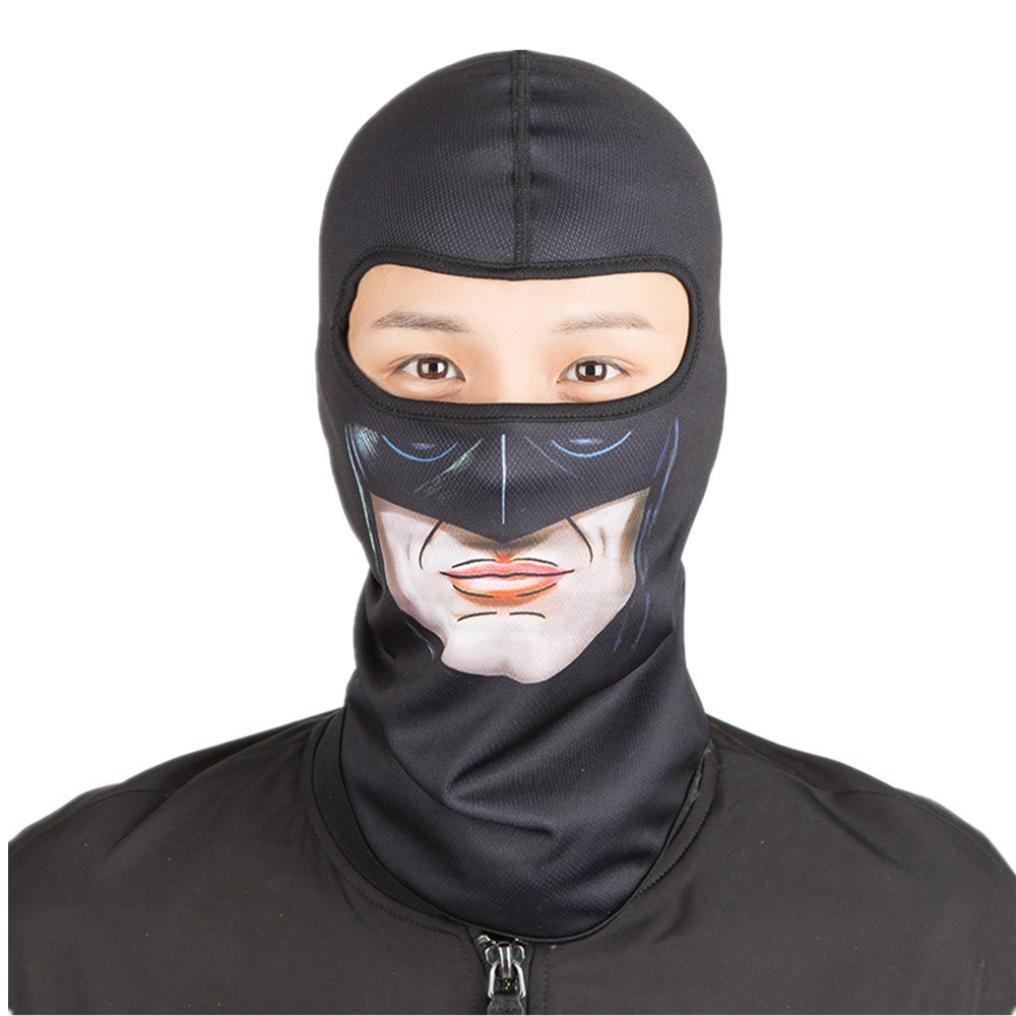 Passamontagna, maschera da sci, massima resistenza, antivento e polvere protezione in esterno per moto, ciclismo, maschera multifunzionale per il viso con protezione UV, g Gusspower