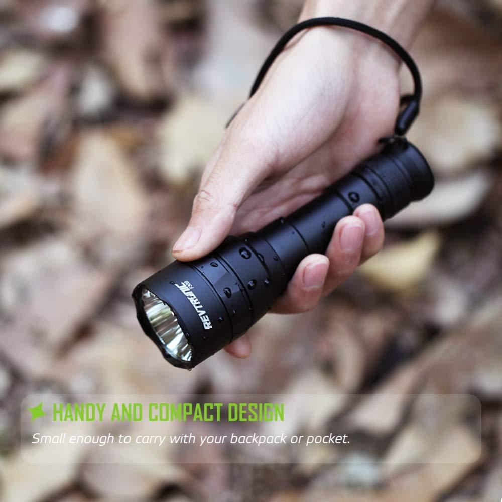 Wiederaufladbare LED-Taschentasche Super Bright Bright Bright Handhold Taschenlampe 5 Modi mit USB-Ladegerät & 18650 Batterie für Home and Outdoor-Aktivitäten B07NWLT1BD | Elegante Und Stabile Verpackung  9dfc99