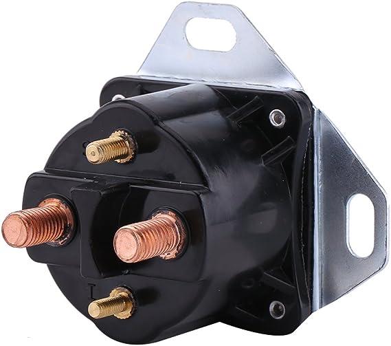 Qiilu Glow Plug Glowplug Relay Solenoid for Ford 7.3L Powerstroke Power Stoke Diesel