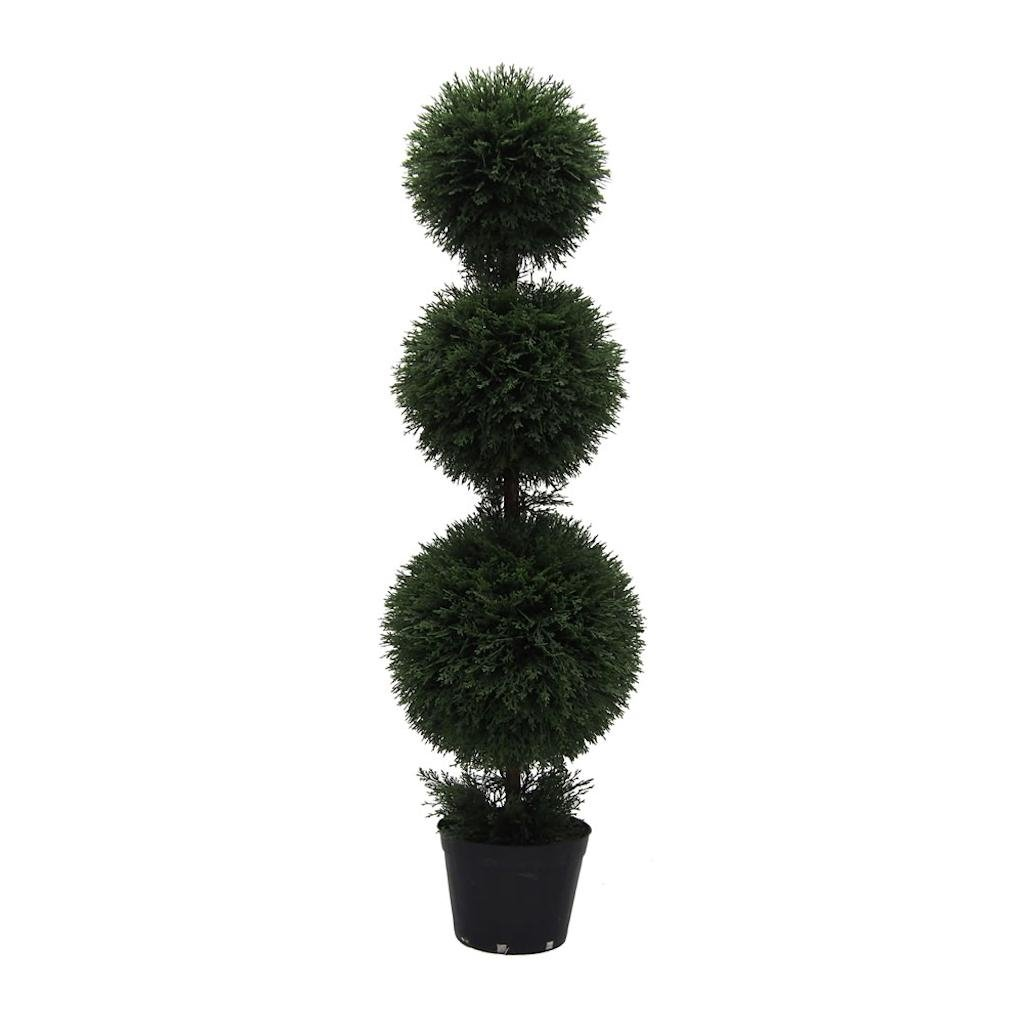 Vickerman TP170848 Everyday Cedar Topiary