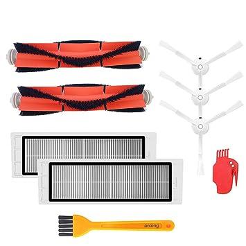 Kit de accesorios para XIAOMI MI Robot piezas de repuesto de vacío 3 PCS cepillo lateral