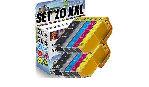 Spetan Compatible para Epson 33XL 33 Cartuchos de Tinta para Epson ...