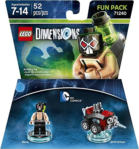 DC Bane Fun Pack - LEGO (4 Action Figure Not Mint)