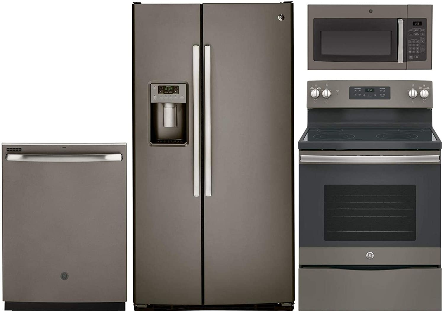 Amazon.com: GE 4 Pcs Kitchen Appliance Package With ...
