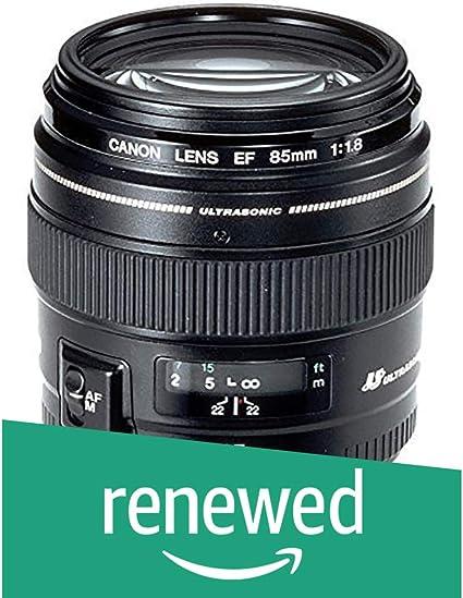 Canon Porträtobjektiv Ef 85mm F1 8 Usm Für Eos Schwarz Kamera