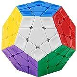 FAVNIC メガミンクス 3x3 megaminx stickerless 立体パズル 脳トレ ステッカーレス 12面立方体