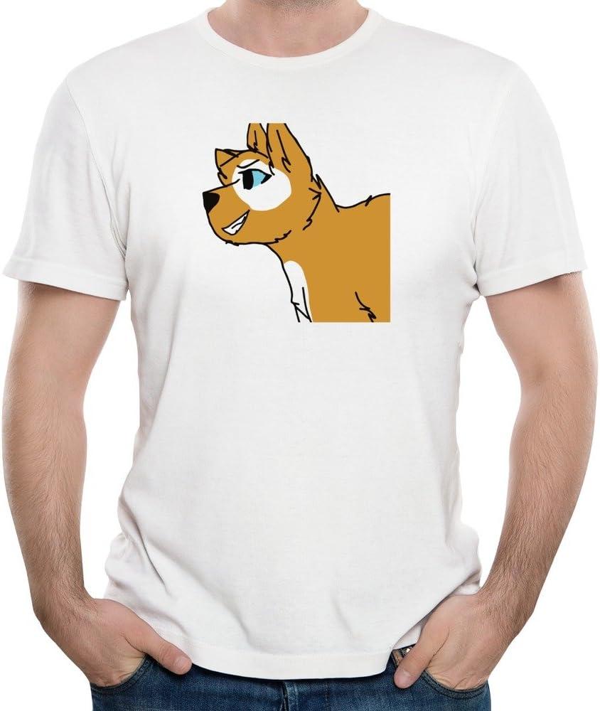 Hombres Azul Ojos Emoji cara Doge Meme T camisas: Amazon.es: Ropa y accesorios