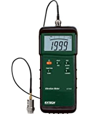 Extech 407860 Heavy Duty Vibration Meter Measures Velocity, Acceleration and Displacement