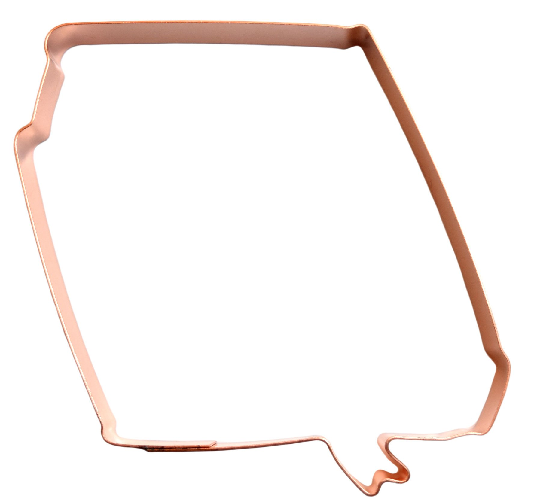Closed Book Bible with Bookmark Copper Cookie Cutter