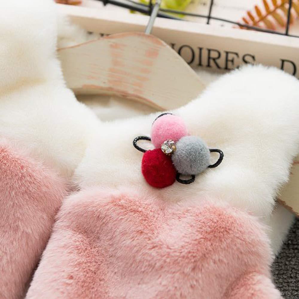 FORESTIME Adorable Infant Baby Girls Boys Warm Vest Coat Winter Fall Princess Cotton Splice/Stripe Jacket Clothes