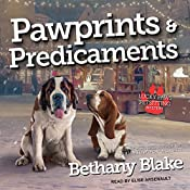 Pawprints & Predicaments: Lucky Paws Petsitting Mystery Series, Book 3 | Bethany Blake