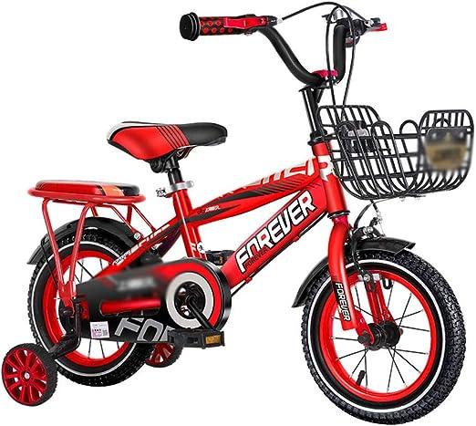 DT Bicicleta para niños de 3 a 6 años Bebé niño Cochecito de niño ...