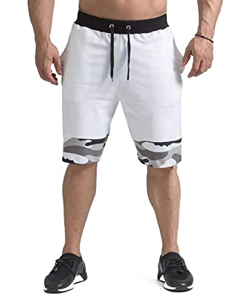 the best reasonable price outlet on sale MODCHOK Homme Shorts Bermuda Pantacourt Jogging Sport Loose Fit Casual  Loisir