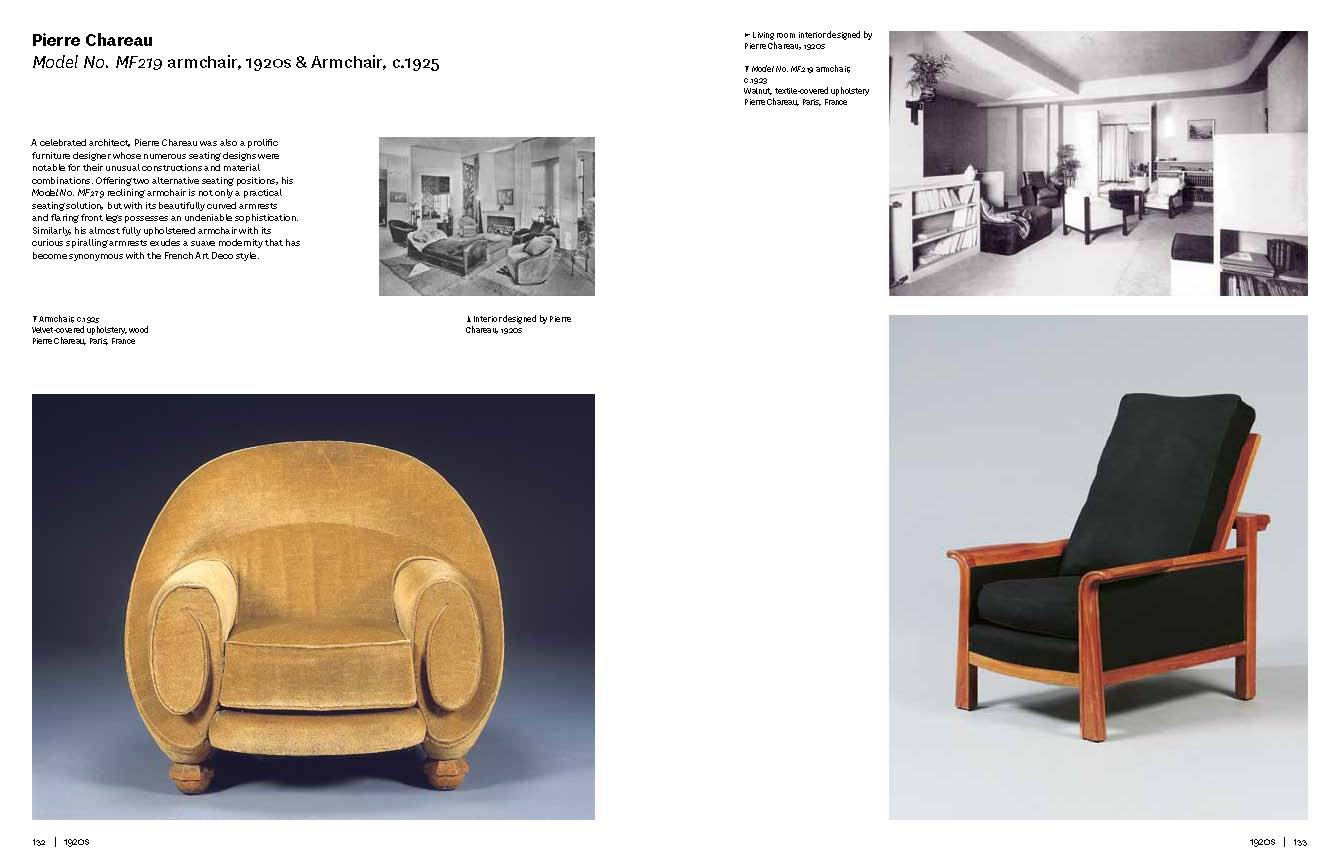 Chairs: 1000 Masterpieces of Modern Design, 1800 to the Present Day ...