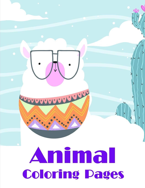 Amazon Com Animal Coloring Pages Christmas Coloring Book For Children Preschool Kindergarten Age 3 5 Popular Animals 9781710761337 Blackice Harry Books