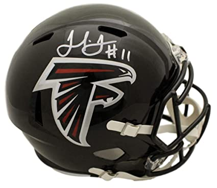 e7b879e0 Amazon.com: Julio Jones Autographed/Signed Atlanta Falcons Speed ...