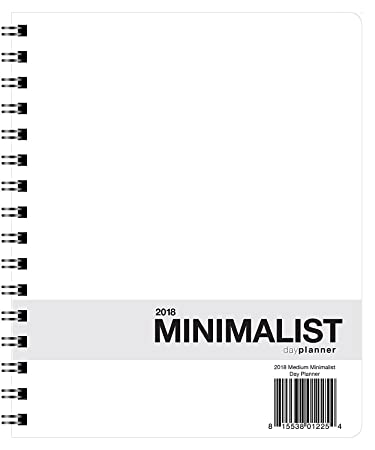 AmazonCom   Minimalist Day Planner  X  January