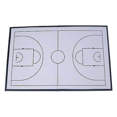 Plegable Marcador Táctica Coaching Board Baloncesto Deportes ...