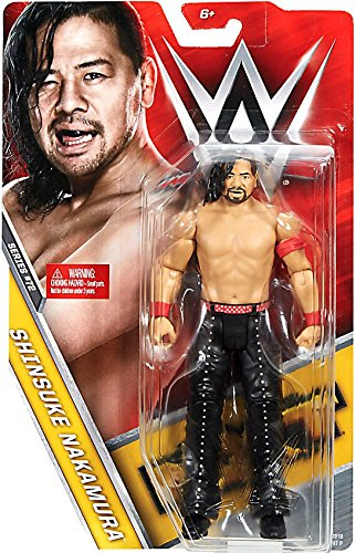 WWE Wrestling Series 72 Shinsuke Nakamura Action Figure by WWE