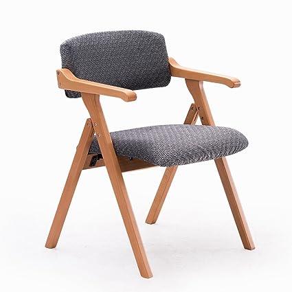 Wenbo hogar madera maciza silla de comedor, Nordic sencilla ...