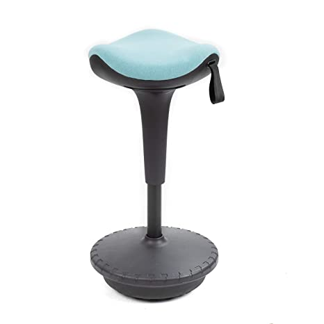 Pleasant Jummico Standing Desk Stool Adjustable Height Active Learning Standing Chair Tall Swivel Sitting Balance Chair For Office Home School Comfortable And Pabps2019 Chair Design Images Pabps2019Com