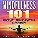 Mindfulness 101: Concepts, Misconceptions & Practices Audiobook by Zoey Matthews Narrated by Jamie L. Carter