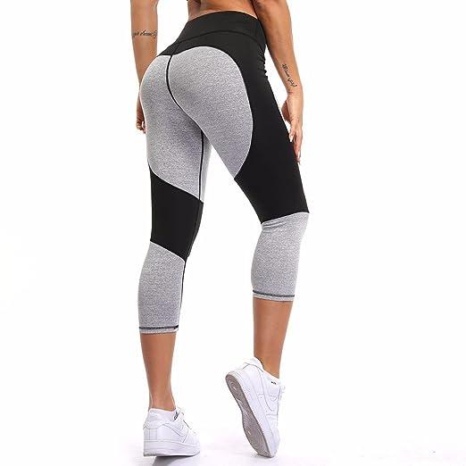 0db085e79db53 COLO Women Capri Yoga Pants Sexy High Waist Workout Leggings Slim Quick Dry  Tight Flare Leg